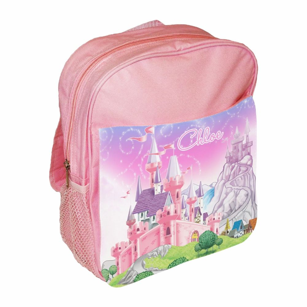 Personalised Princess Childrens School Bag Rucksack Backpack